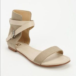 Joe's Jeans Mack ankle wrap sandals